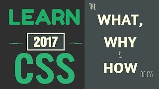 Learn CSS #1: The What, Why, and How | Intro