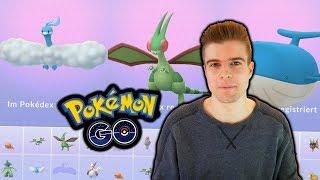 Komplette 3. Generation entwickeln (Libelldra & mehr!) | Pokémon GO Q&A #2/3