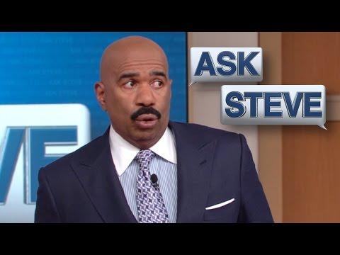 Ask Steve Yo momma tired of you STEVE HARVEY