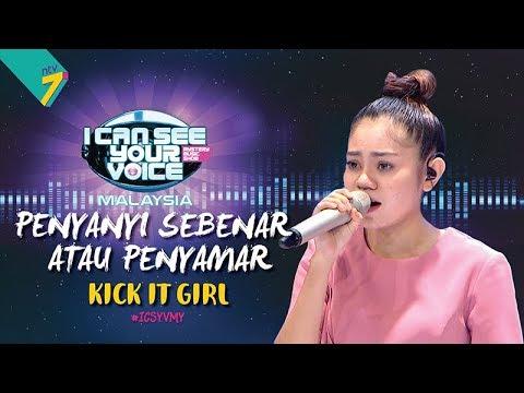 Penyanyi Sebenar Atau Penyamar Kick It Girl ICSYVMY