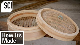 How Bamboo Steamer Baskets Are Made | How It