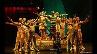 Cirque du Soleil. KOOZA. Teeterboard training.