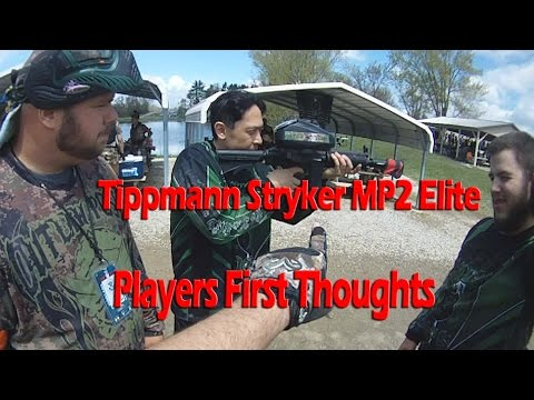 Tippmann Stryker MP2 Elite Random Players Thoughts Woodsball Electronic Marker only $299