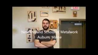 ABS Introduction to Bladesmithing Class-New England School of Metalwork