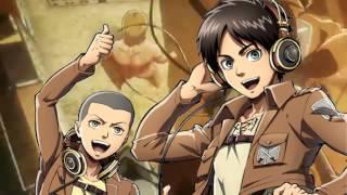 [Attack on Titan OP 1] Guren no Yumiya - Eren and Connie Version