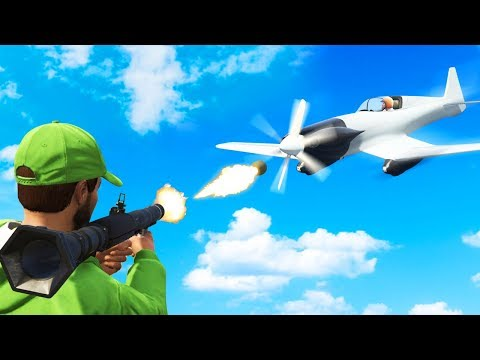 EXTREME KAMIKAZE PLANES vs. RPG RUNNERS! (GTA 5 Funny Moments)