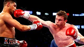 Canelo Alvarez vs Amir Khan - Highlights (KNOCKOUT of the Year 2016)