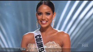Andrea Tovar Second Runner up Miss Universe 2016 - Full Performance HD