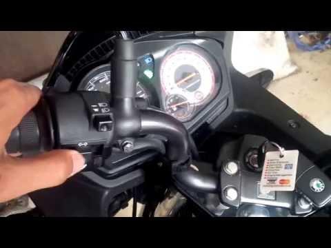 CBF 125 indicator relay - broken cheap spare part