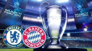 UEFA Champions League Final 2012: Bayern München vs. Chelsea FC (Hair vs. Hair Match)