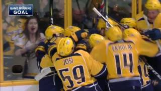 All Overtime Goals From the 2017 NHL Playoffs