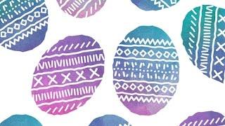 How te create Easter watercolor Eggs in Adobe Illustrator  Freepik