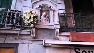 Messina -Processione Madonna della Lettera - filmato 3