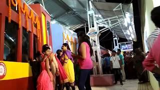 Bhubaneswar Jharpada Durga Puja Pandal, Railway Station Style, Kalinga Station,