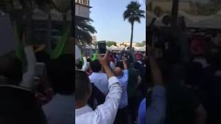 Hrithik - Yami at Dubai for Kaabil Promotion|| Fans Crowd