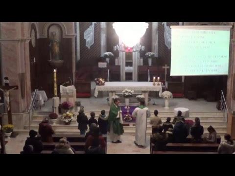 "Sf. Liturghie 19.11.2018, 18:00 - Biserica ""Ss. Ap. Petru și Paul"" - Onești"