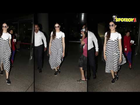 Xxx Mp4 SPOTTED Deepika Padukone In Her Casual Avatar At The Airport SpotboyE 3gp Sex