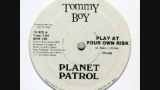 Planet Patrol (rock at your own risk) instrumental