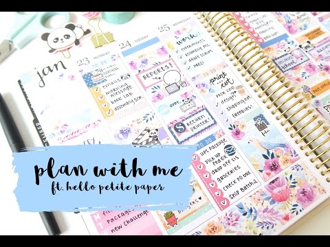 Plan With Me Melody ft. Hello Petite Paper