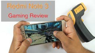 Xiaomi Redmi Note 3 Gaming Review & Overheating Check! (GTA San Andreas, MC5, NOVA3, Asphalt8)