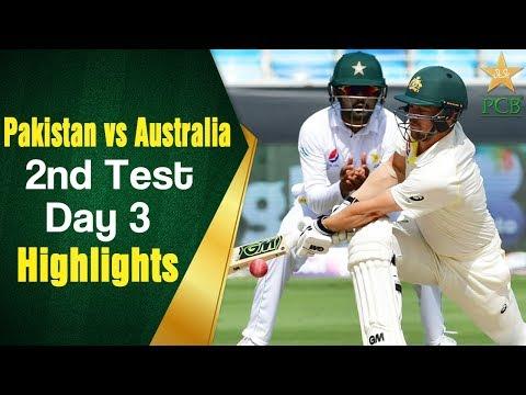 Xxx Mp4 Pakistan Vs Australia Highlights 2nd Test Day 3 PCB 3gp Sex