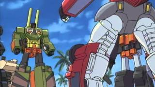 Car Robots 25 Force Merge! Omega Prime