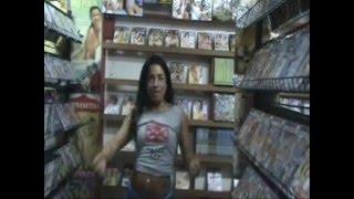 Mônica Santhiago na Videolocadora pornô Asahi Video