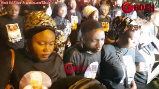 This Would Make U Cry! Aisha Abimbola's Sisters & Brothers Crying At Her Candle Night