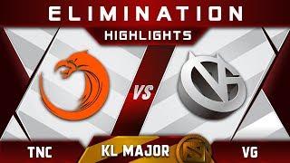 TNC vs VG [EPIC] Kuala Lumpur Major KL Major Highlights Dota 2