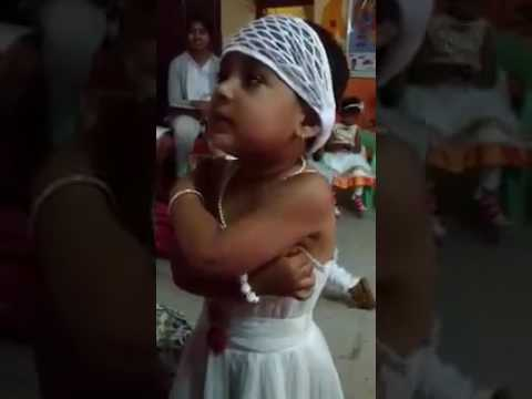 Marathi little girl crying cutely by Sameer