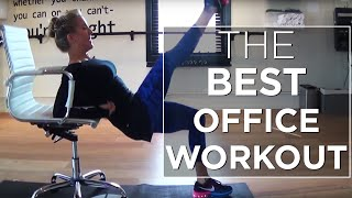 THE BEST Butt & Thigh Workout for the OFFICE!