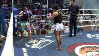 Mikiala Freitas (Tiger Muay Thai) vs Pinsiam @ Bangla Thai Boxing Stadium