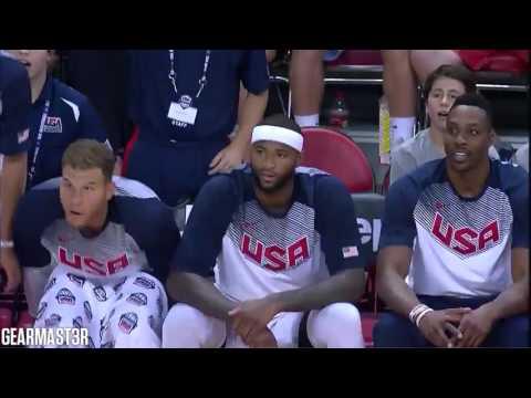 watch 2015 Team USA Basketball Showcase Best Plays