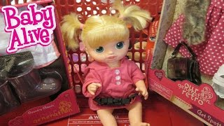 BABY ALIVE Outing To Target With Erin!