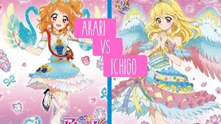 AIKATSU!BATTLE: ICHIGO VS AKARI