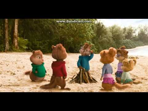 Alvin and The Chipmunks:Chipwrecked- Cute ChipmunkChipettes Moment