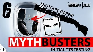 Shotgun Sniper - TTS Initial Mythbuster Testing - White Noise - Tom Clancy's Rainbow Six - R6