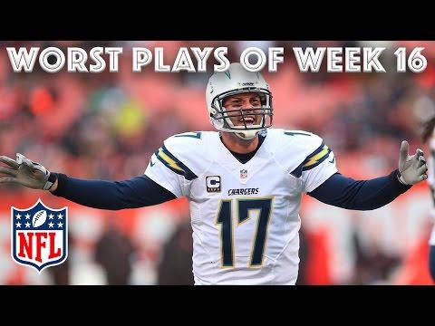 Worst Plays of Christmas Weekend 🎄 NFL Week 16 Highlights