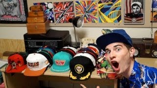 My Vintage Snapback Collection!! 30+ Hats