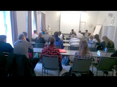 Modhar Alhilou_محاضرة سيد مضر في جامعة هلسنكي