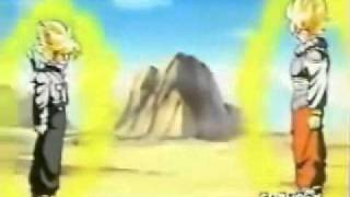 Dragon Ball Z   Trunks Vs Goku   Ep 122 Dublado