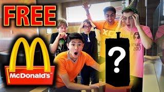 HOW TO WIN FREE FOOD AT MCDONALDS!! **LIFE HACKS**