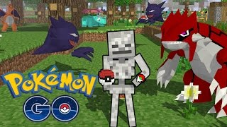 Monster School: Playing Pokemon GO - Minecraft Animation