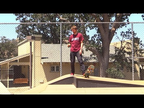 watch TODAY I LEARNED FRONTSIDE FLIPS UP A GAP