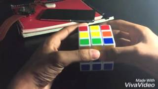 How to Solve a Rubik's Cube Bangla Tutorial | রুবিক্স কিউব সমাধানের কৌশল - by Abrar Dip