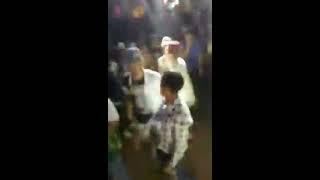 رقص فااااجرر  صالح فوكس ويوسف كابو  من مهرجان الصعيدي ف مطار امبابة 2018