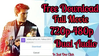 Free download Mission Impossible - 6 Fallout Full Movie |Dual Audio|Tech Know Link In description