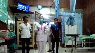 Kocak abis,  para perawat melakukan tarian gemfamire