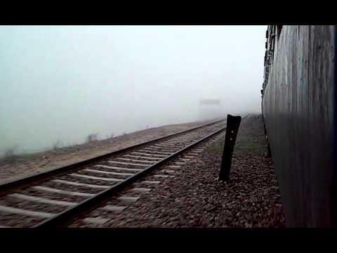 passenger train arriving at MAU AIMA 17feb2015