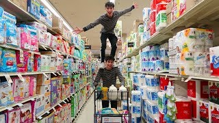 FUNNY GROCERY STORE SHOPPING!